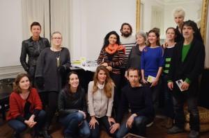 Rencontre avec Maud Kristen à la résidence Ddd du mois de janvier 2013.