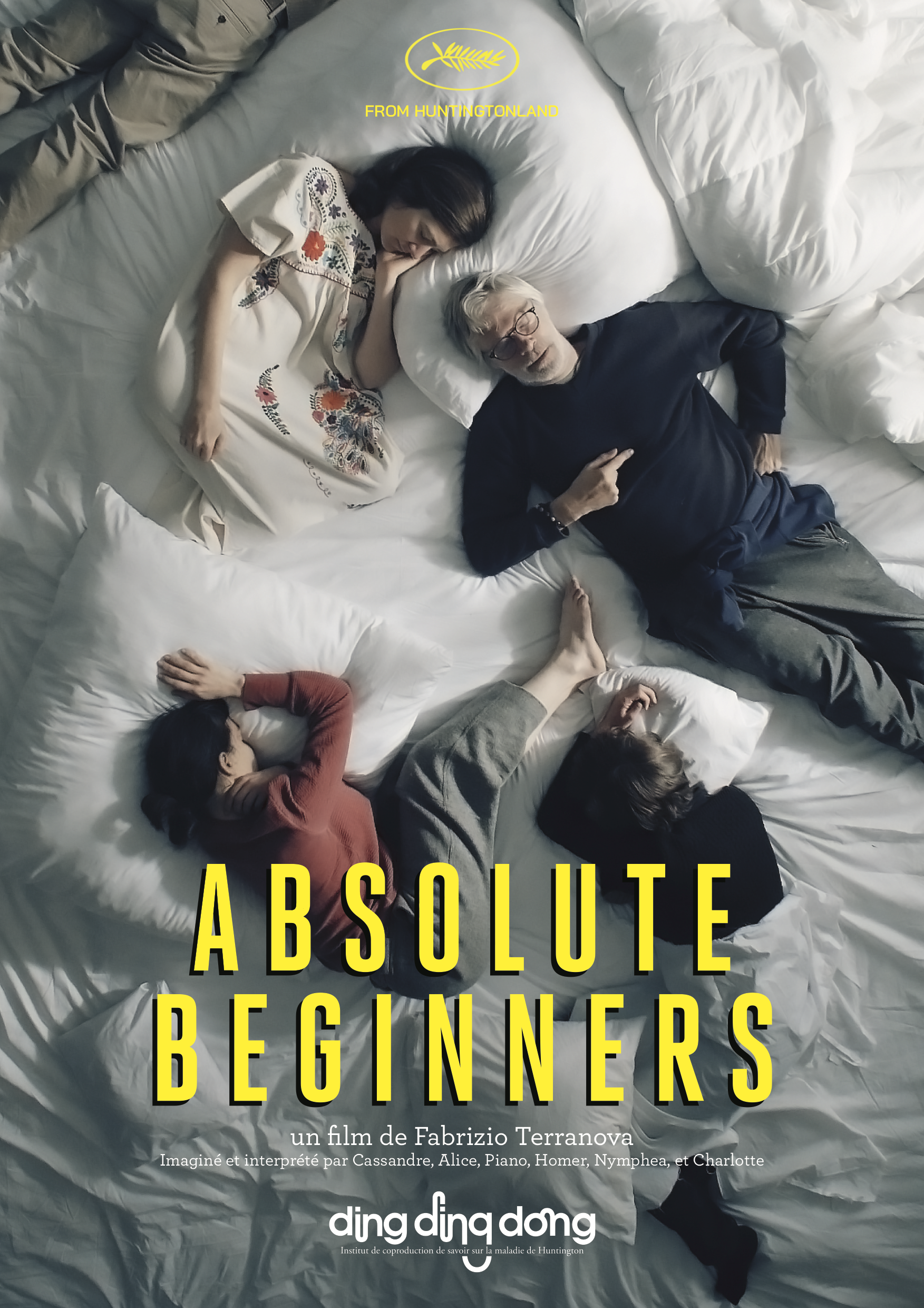 Affiche officielle (grands formats) Absolute Beginners film Huntington